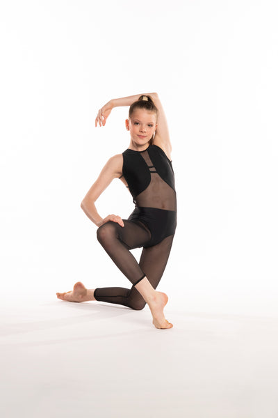CAPRI BLACK UNITARD