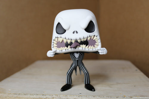 Funko! The Nightmare Before Christmas Jack Skellington Scary Face Pop!