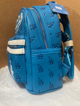 LOUNGEFLY MLB LOS ANGELES DODGERS MINI BACKPACK