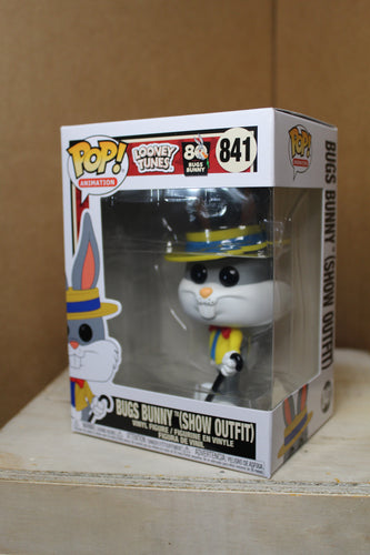 Funko! Bugs Bunny 80th Anniversary Bugs in Show Outfit Pop!