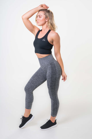MOVE WITH POWER 7/8 LEGGINGS BLACK