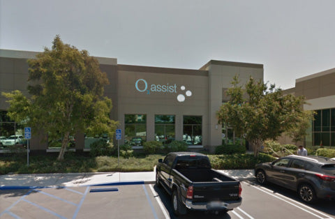 O2 Assist Oxygen Concentrators Office