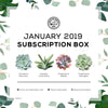 January 2019 Subscription Box