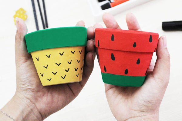 Paint Clay Pot DIY