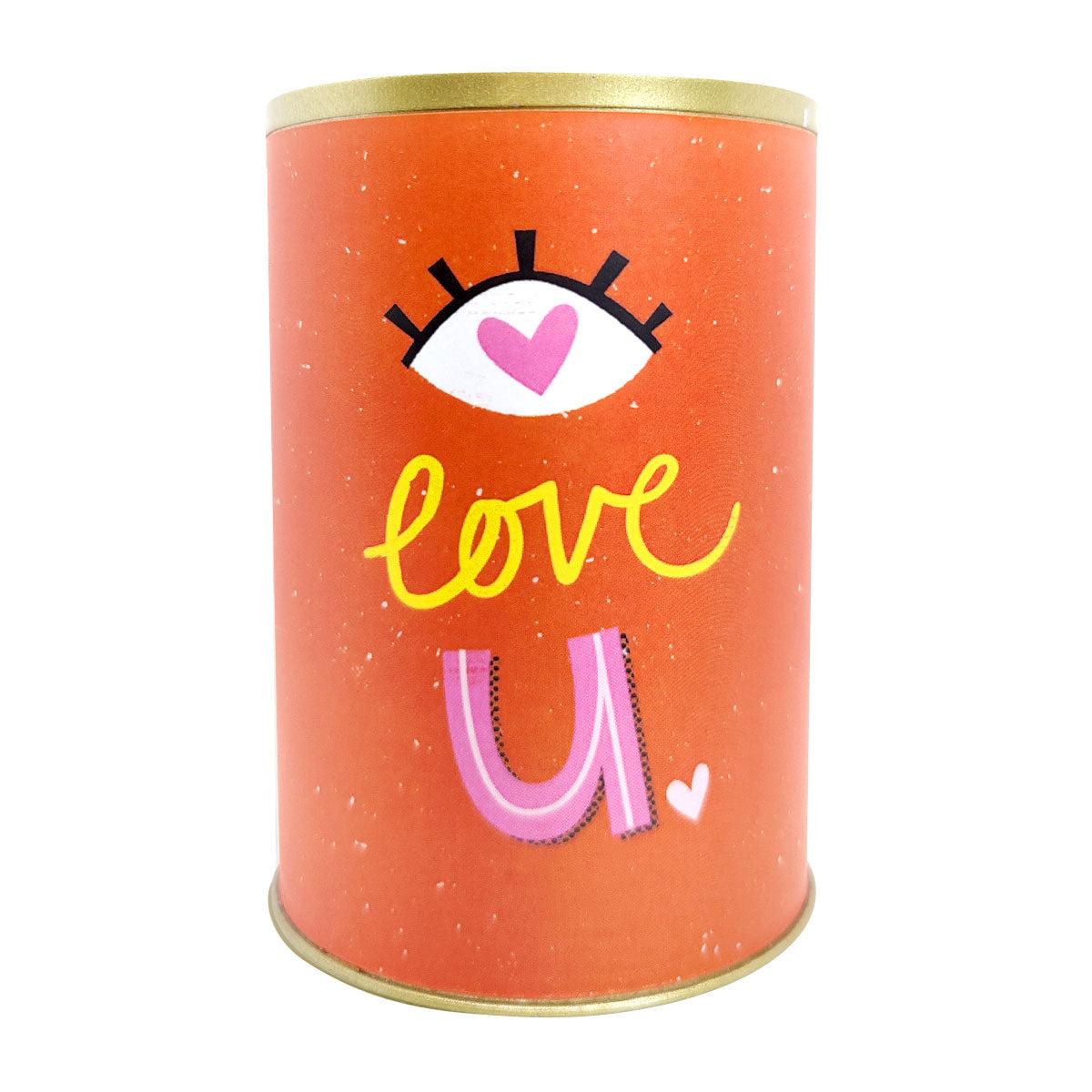 punny tin can for sale, tin pot for succulent and cactus, Valentine's day gift ideas, succulent gift ideas, funny pot for sale, Valentine gift for your lover