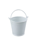 white tin pail
