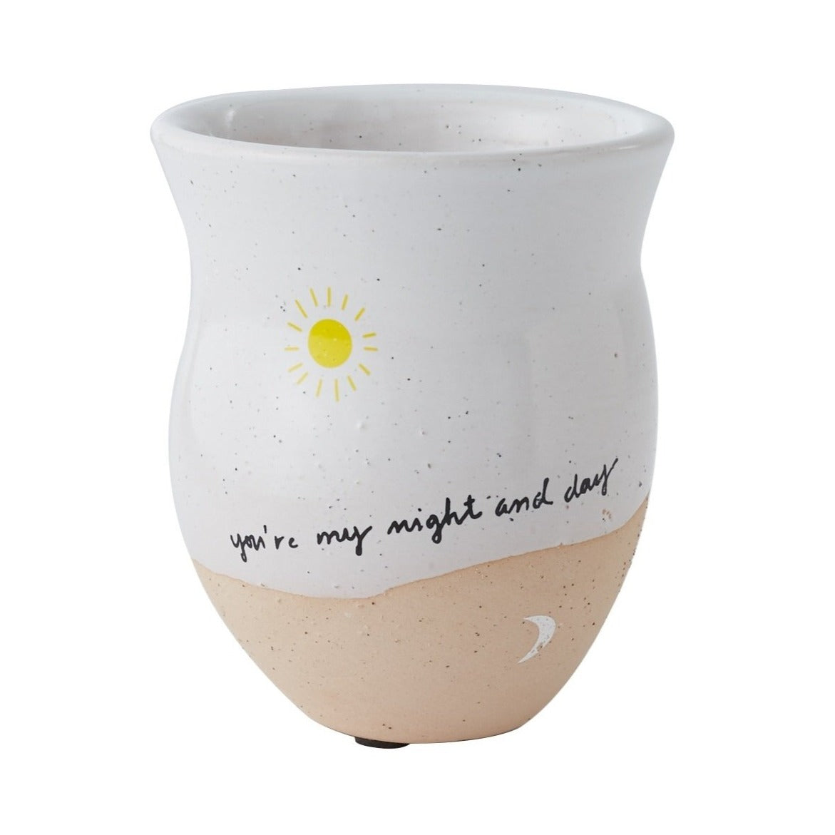 You Are My Night And Day Pot for sale, ceramic vase for home decor, ceramic succulent and cactus pots for sale, Succulent gift ideas