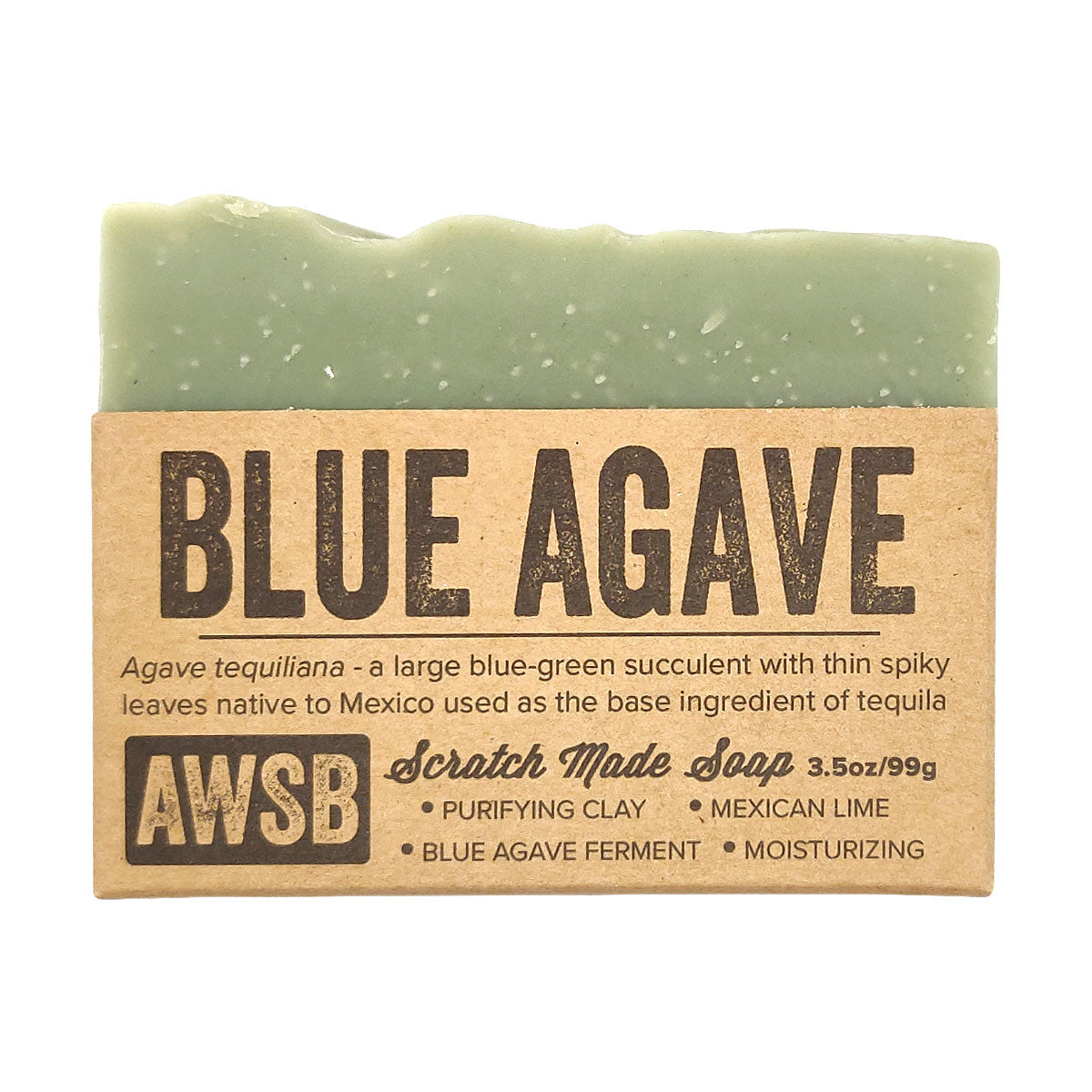 Blue Agave Soap for sale, Soap Bar, Handmade Soaps, Clean Scent, Sustainable Skincare, Vegan Cruelty Free, Face And Body, Bath Beauty, Natural Gift