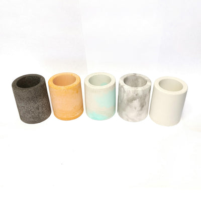 Marble Concrete Pot