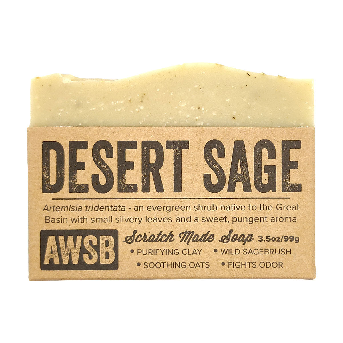 Natural Desert Sage Soap for sale, Essential Oil Soap Bar, Clean Scent, Sustainable Skincare, Vegan Cruelty Free, Face And Body, Bath Beauty, Natural Gift