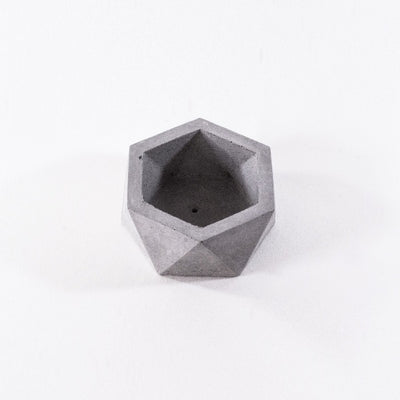 hexagon concrete planter, craft home decoration