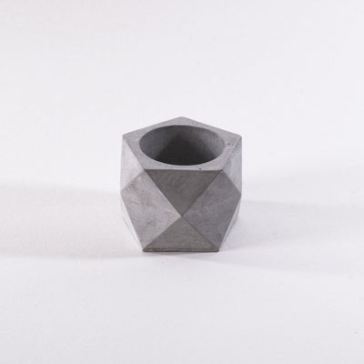 flower pot, geometric pentagon pot