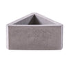 triangle concrete pot, triangular planter, mini concrete planter