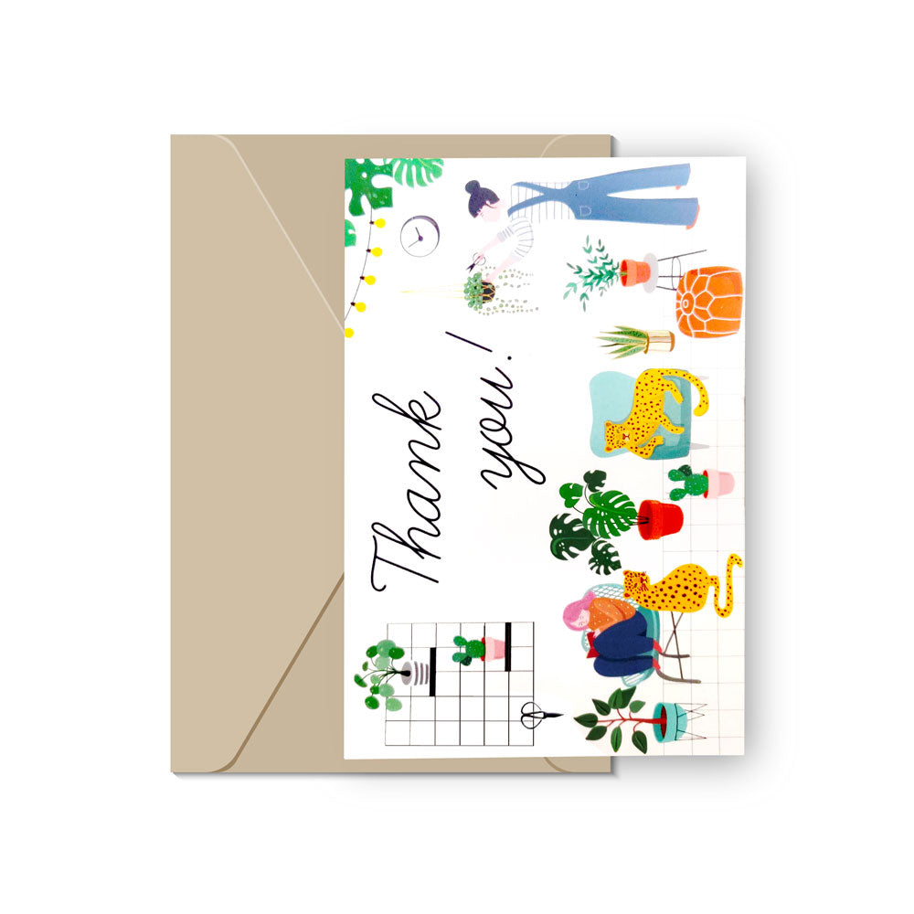 Succulent Thank You Cards for sale, Succulent Note Cards, Wedding Thank You, Birthday Thank You, Bridesmaid Card, Succulent Gift Ideas, Succulent Greeting Cards