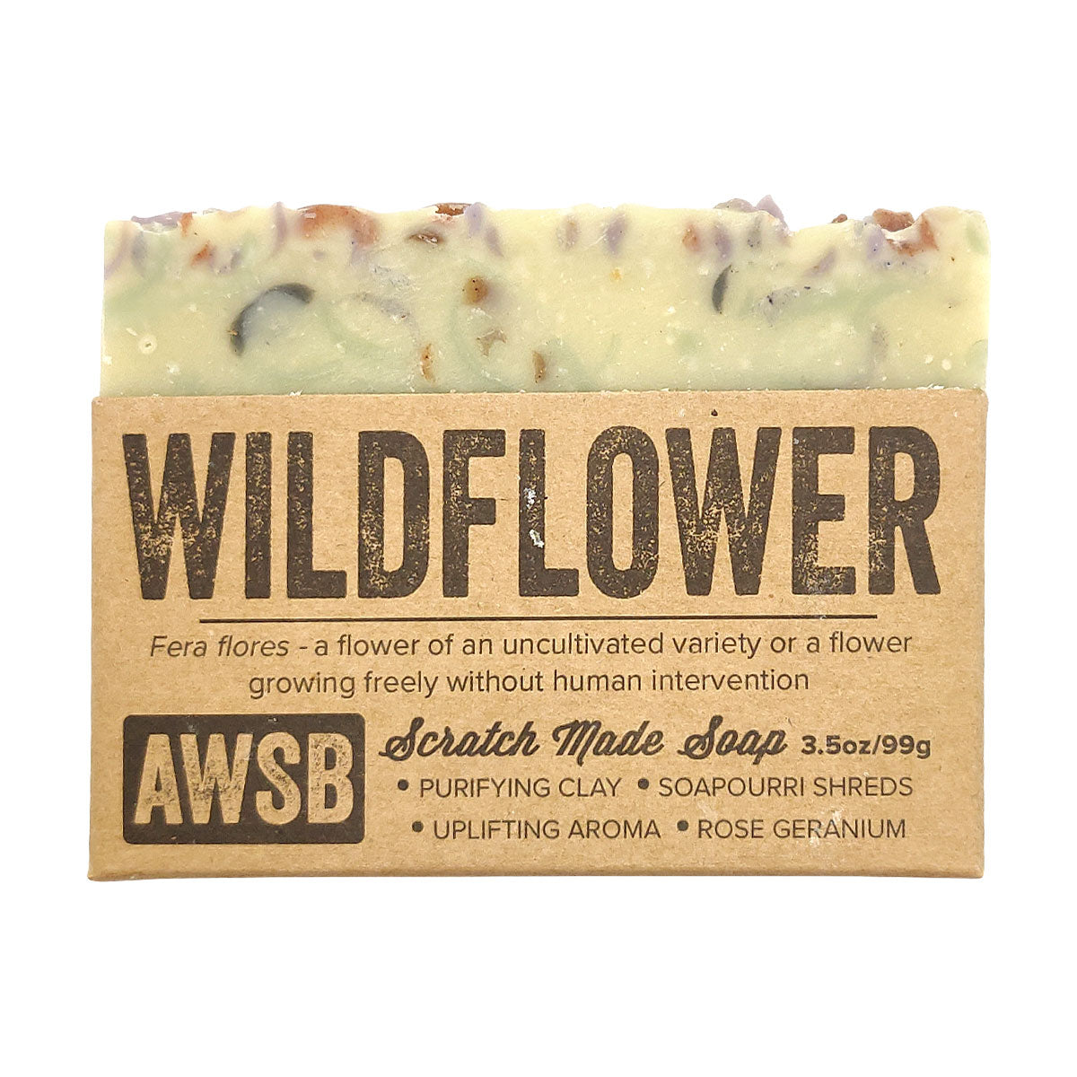 Organic WildFlower Soap for sale, Bridal Shower Favor, Sustainable Skincare, Natural Gift, Vegan Cruelty Free, Face And Body, Bath Beauty, Essential Oil Soap, Botanical Soap