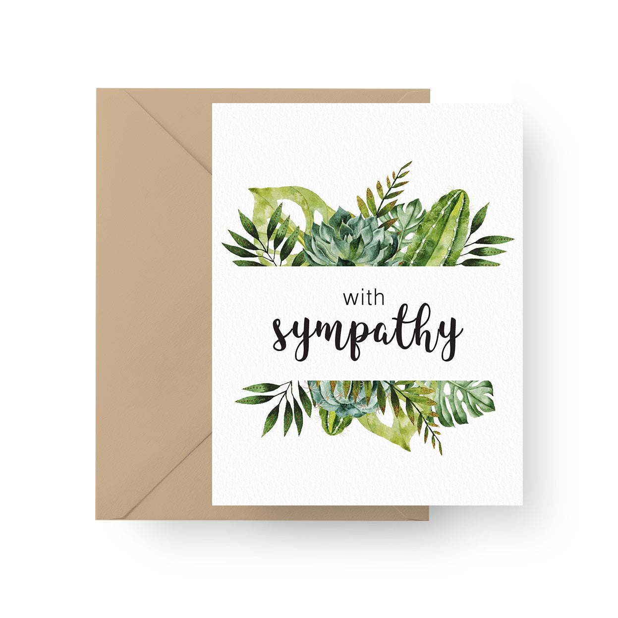 With Sympathy Card for sale