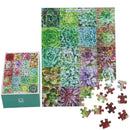 Succulent Plants Puzzle, succulent craft ideas, succulent gift ideas