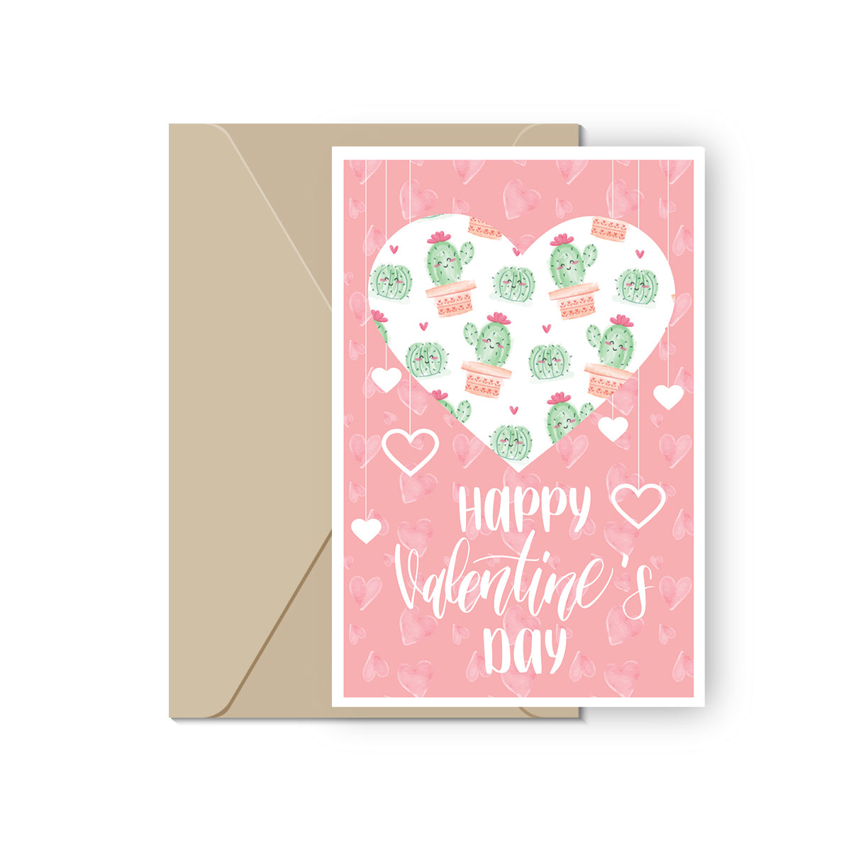 Cactus Valentine's Day Cards for sale, Succulent Happy Valentine Card for sale, Succulents Card, Succulents Gift Ideas, Heart Valentine's Day Card for sale, Succulents Greeting Card, Heart Cactus Valentine Day Card, Succulents Valentine Card for sale