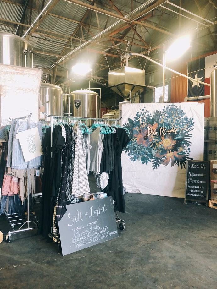 A Peek Inside Our Pop-Up Shops (+ An Invitation!)