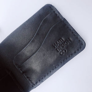 Men's Leather Wallet in Brown and Black