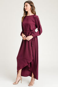 Stacy Woven Wrap Dress