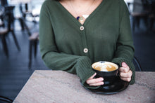 HolidayMery Knit Sweater - Black, Charcoal, Mustard, Olive, & Emerald