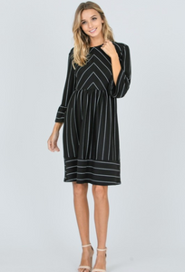 Esther Striped Dress