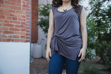 Sloan Top in Plum