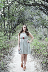 Sierra Dress in Gingham