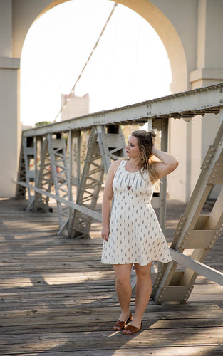 Lacey Dress in Cream