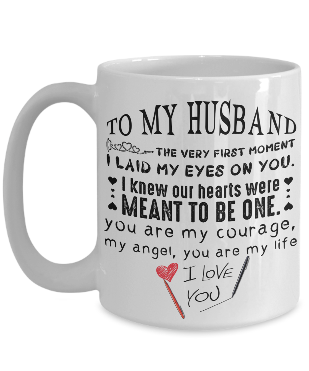 To My Husband Mug For Husband Special Valentine Gift For Husband To