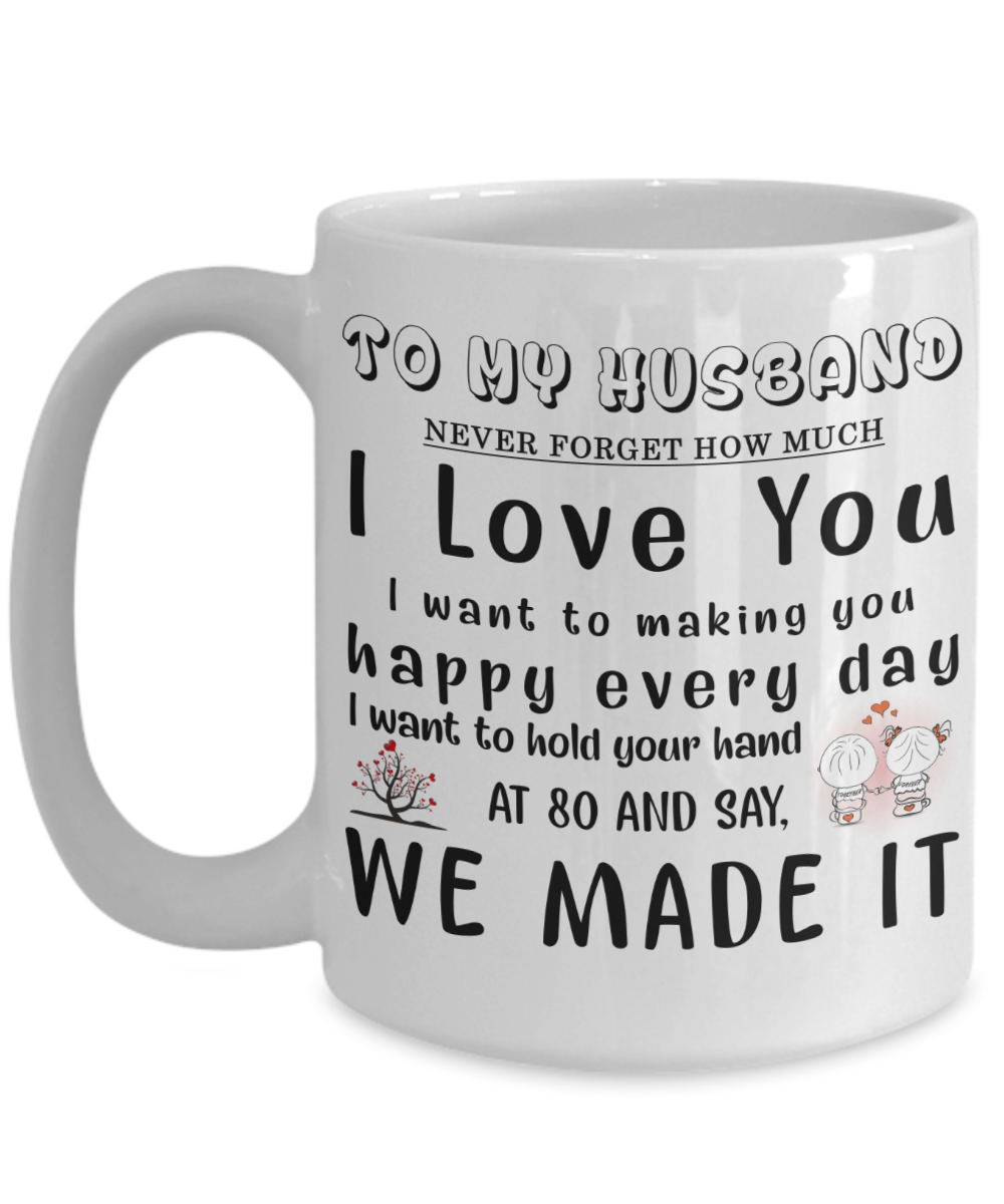 To My Husbandmug For Husbandspecial Valentine Gift Husbandto Husband Coffee Mugamazing Husbandbirthday Special Mug