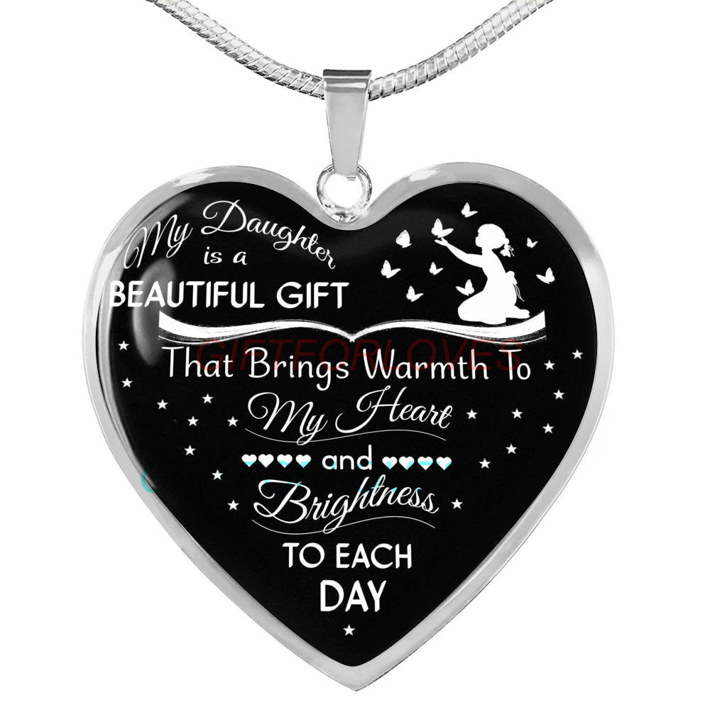 f6ce083c88f To my daughter  daughter necklace