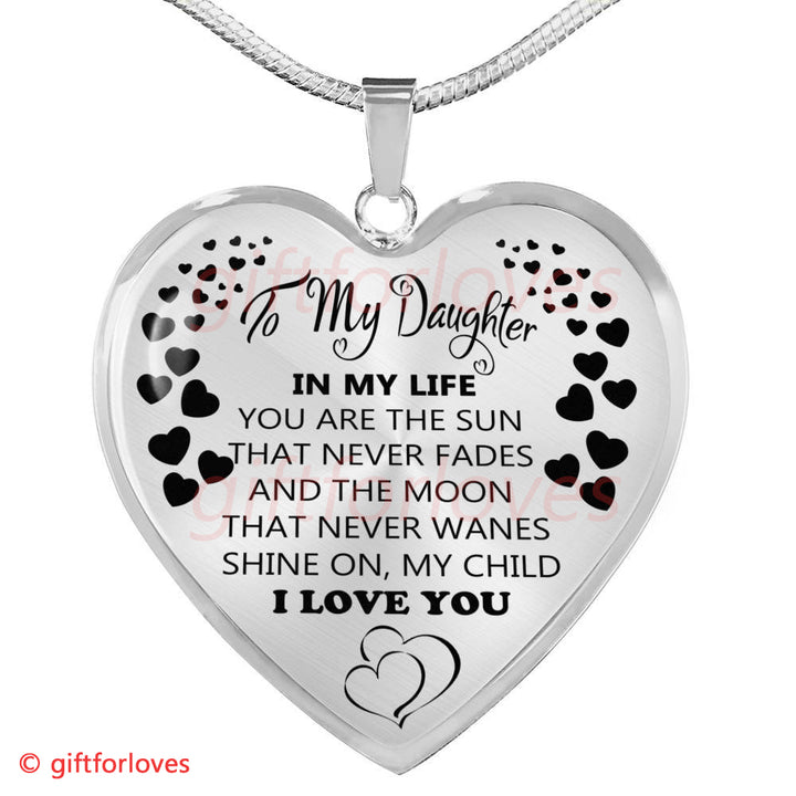 To My Daughter Luxury Necklace Creative 10Th Birthday Gift Ideas For Her