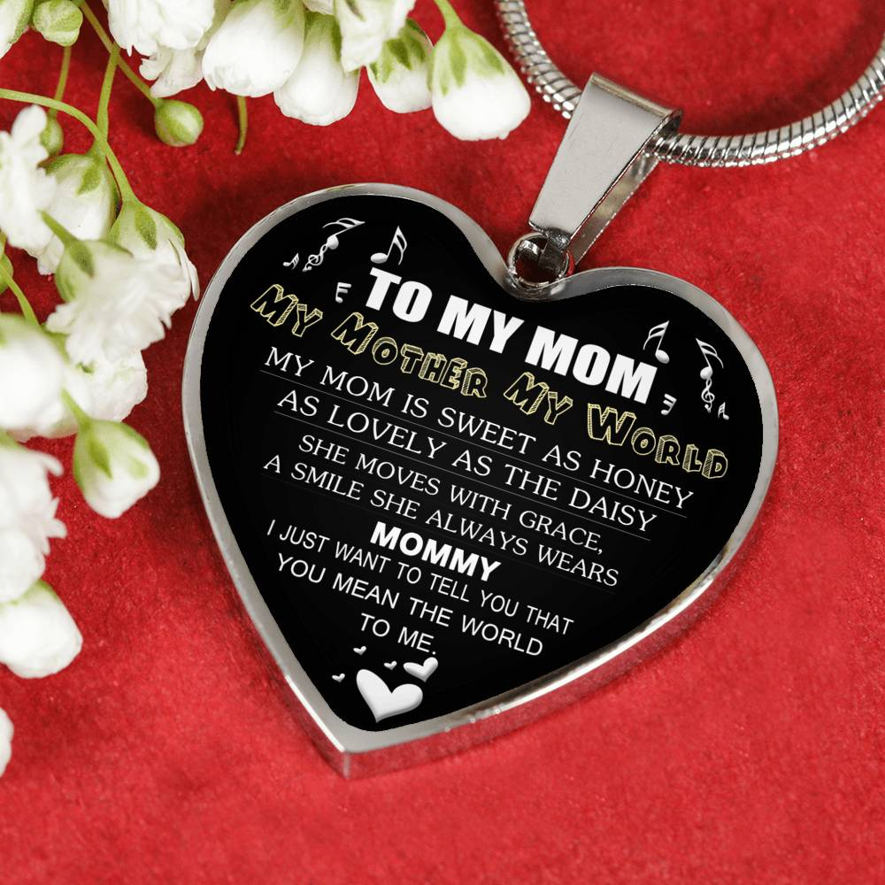 Mothers Day Gifts To My Mom Necklace Gifts For Mother Mom Mama Idea Gifts For Mother Mom Mama 1042ms-sb