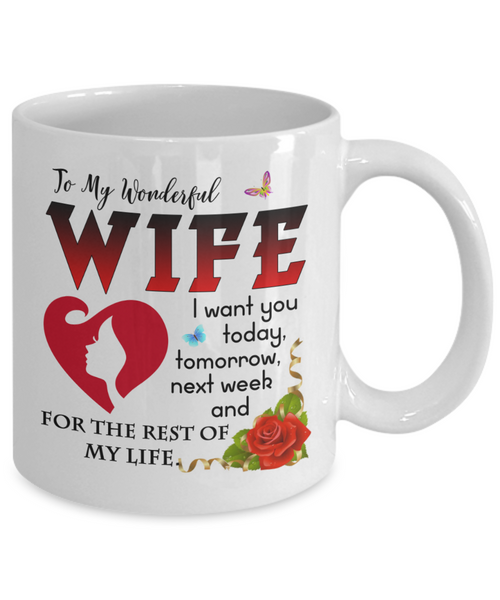 To my wife Wife coffee mug best gifts for wife birthday gifts for wife husband and wife coffee mug beautiful wife coffee mug to my wife coffee mug ...  sc 1 st  luxury necklace & To my wife: Wife coffee mug best gifts for wife birthday gifts for ...