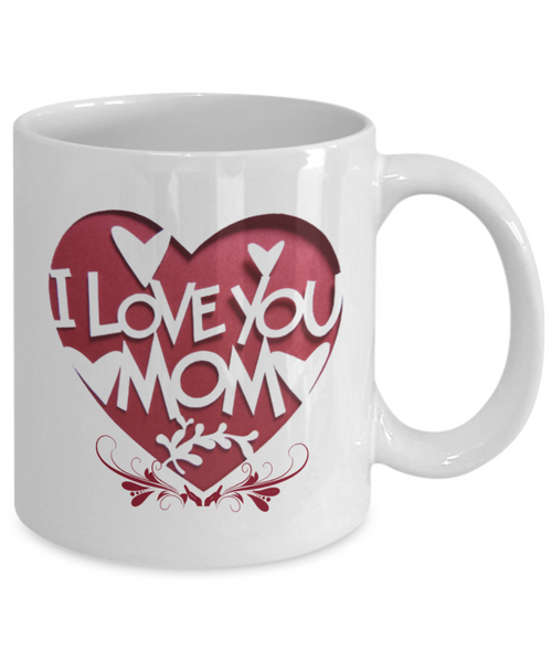 To My Mom Coffee Mug Best Gifts For Birthday Daughter And