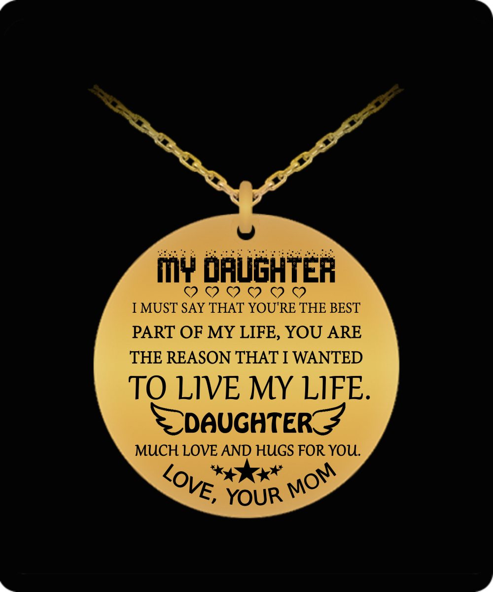 Christmas Gift Ideas For Mom From Daughter.To My Daughter Gift For Christmas 2018 Christmas Gift Ideas For Daughter Daughter Necklace To My Daughter Necklace Best Gifts For Daughter