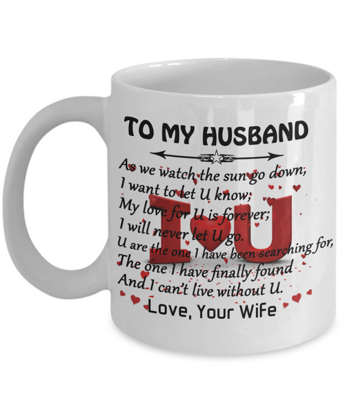 To My Husband Coffee Mug For Best Gifts Birthday And Wife