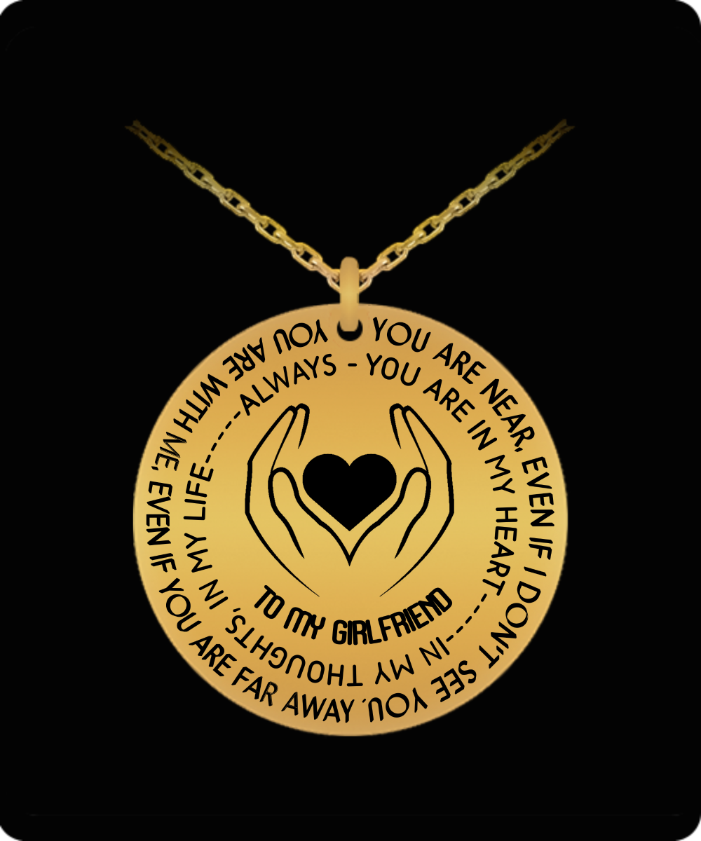 To My Girlfriend Gift For Christmas 2018 Ideas Laser Necklace Best Gifts