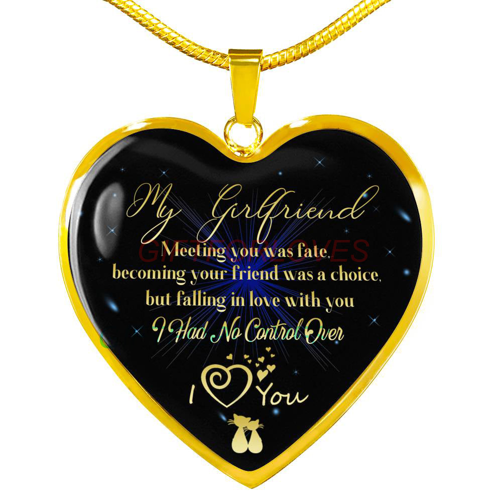 To My Girlfriend Gift For Christmas 2018 Ideas Necklace Beautiful