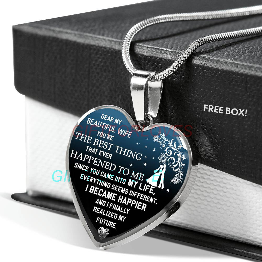 Christmas Gift Ideas For Wife Beautiful Necklace To My Best Gifts Birthday Husband And