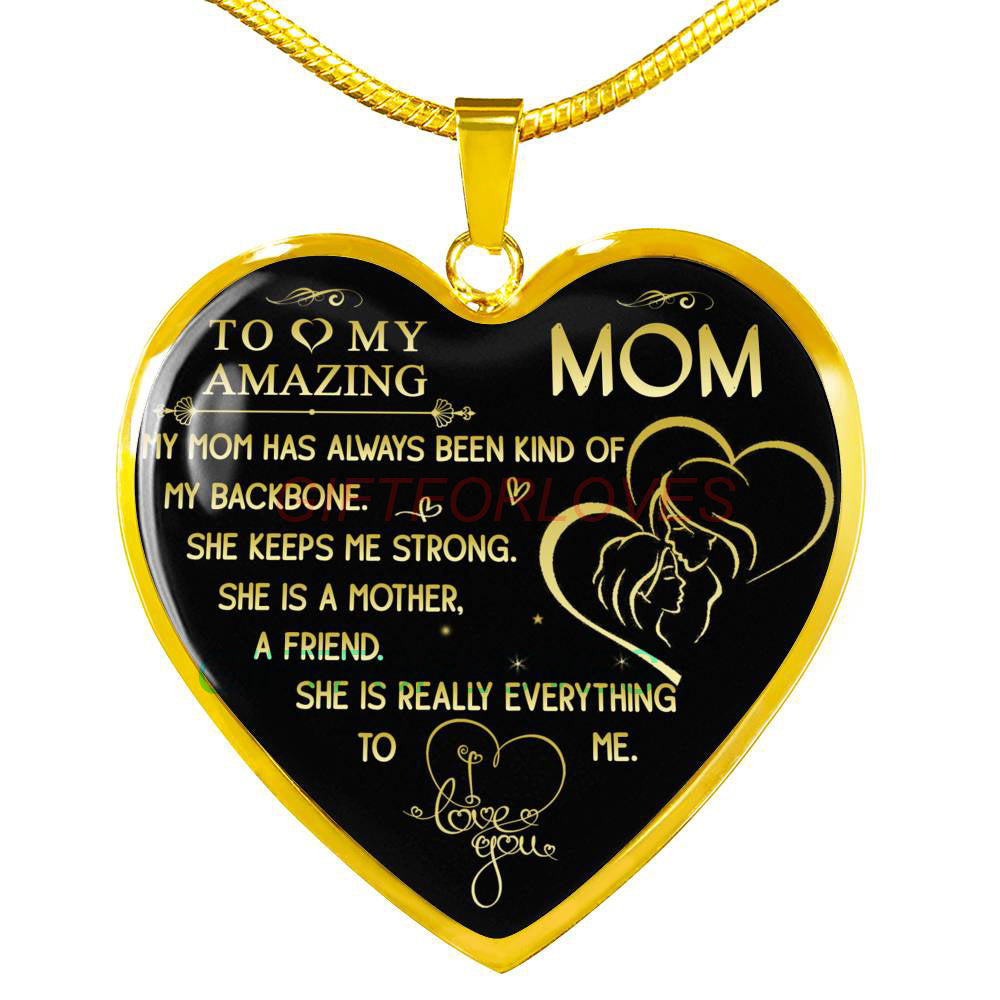 Christmas Gift Ideas For Mom From Daughter.To My Mom Gift For Christmas 2018 Christmas Gift Ideas For Mom Beautiful Mom Necklace Mom Necklace To My Mom Necklace Best Gifts For Mom