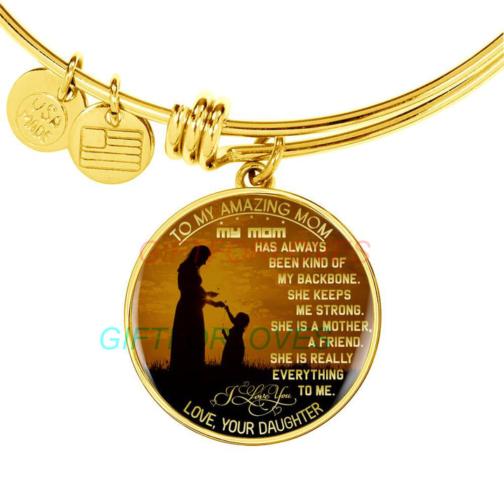 New Mom Child Heart Pendant Chain Family Love Necklace Mother/'s Day Jewelry VGCA