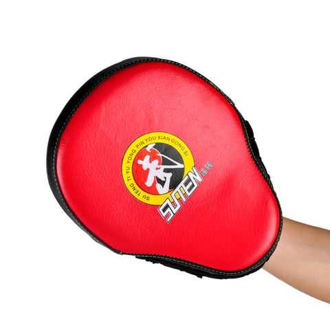 High Quality Punching Kicking Pad Leather Training Equipment Curved Target MMA