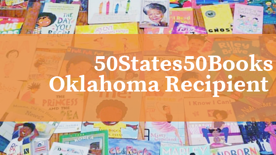 50 STATES 50 BOOKS | OKLAHOMA RECIPIENT
