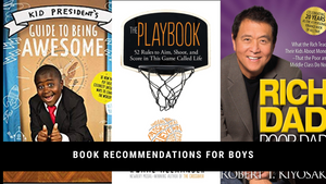 Book recommendations for 13 year old boys