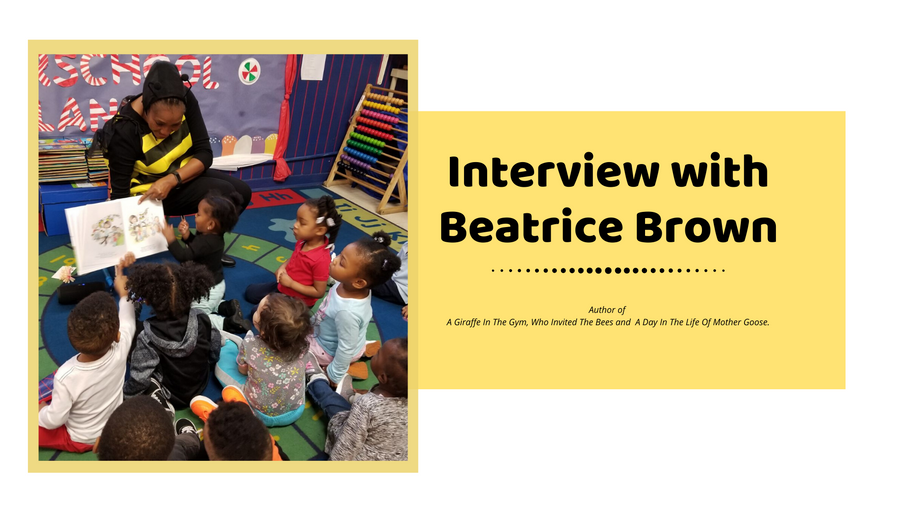 AUTHOR INTERVIEW: BEATRICE BROWN