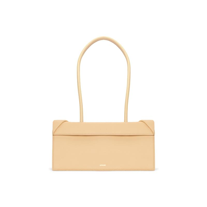 CLICK BRICK SHOULDER BAG - Apricot