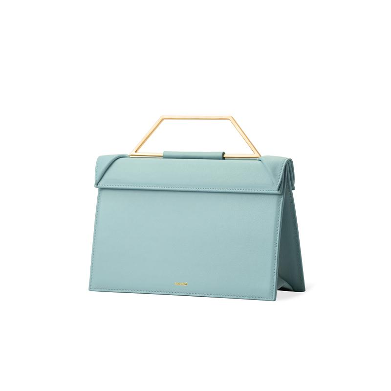 CLICK MINI TOP HANDLE BAG - Green